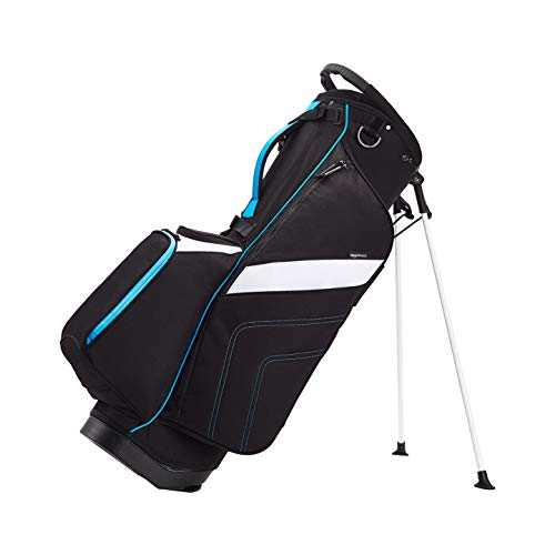 AmazonBasics Golf Club Crossover Stand Bag - Blue