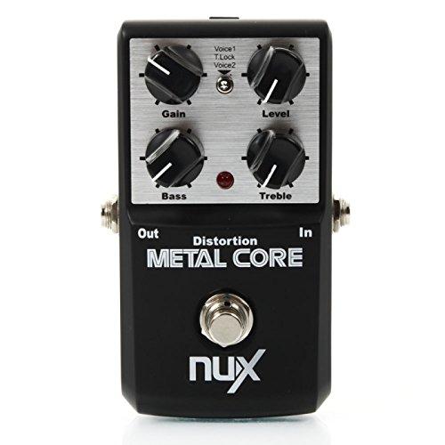 Gitarren-Zubehör - Nux - Metal Core Metal Distortion -Gitarre Sound Effect Pedal Schwarz