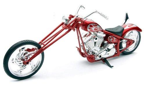 Custom Chopper [NewRay 43493], Rot, 1:12 Die Cast
