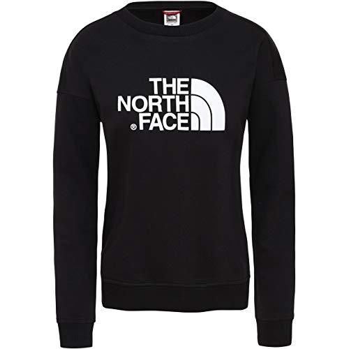 The North Face W Drew Peak Crew-EU, Felpa Donna, TNF Black, M