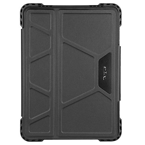Targus Pro-Tek Apple iPad Pro 11-Inch 2nd Gen (2020) and 1st Gen (2018) Rotating Case with Slim TriFold Stand Cover, Stylus Holder, Magnetic Closure, Black (THZ743GL)