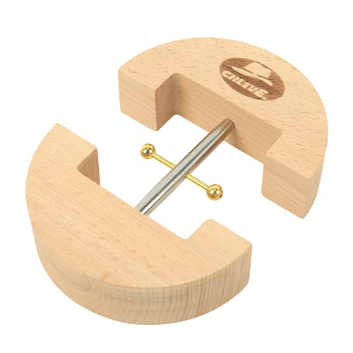 wooden back stretchers CHLIVE Hat Stretcher Made of Wooden Super Tensile Force Suitable for All Materials One Size Fits All Hat