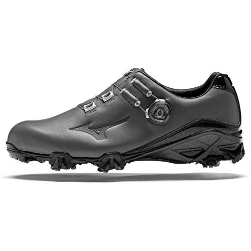 Mizuno Genem GTX Boa Golfschuhe für Herren, Grau - grau - Größe: 45 EU
