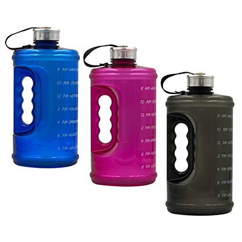 MERIGLARE Botella de Agua 3X Botella de Agua Antifugas Deportiva de Viaje