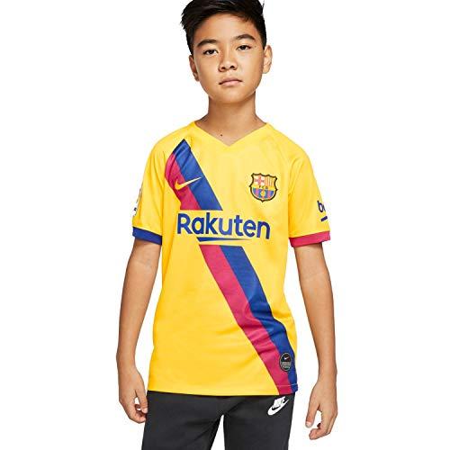 NIKE Breathe FC Barcelona Stadium Away Camiseta, Unisex Adulto, Varsity Maize/Varsity Maize, S