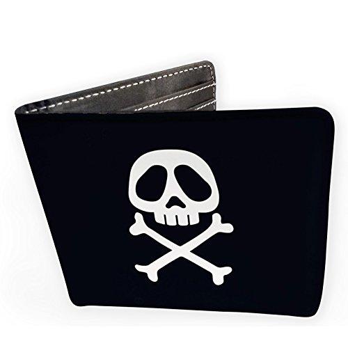 ABYstyle Abysse Corp_ABYBAG220 Captain Harlock – Geldbörse Emblem – Vinyl, Mehrfarbig