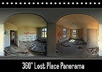 360° Lost Place Panorama (Tischkalender 2022 DIN A5 quer): 12 hochwertige 360° Panoramen von verlassenen, stillgelegten Orten (Monatskalender, 14 Seiten )