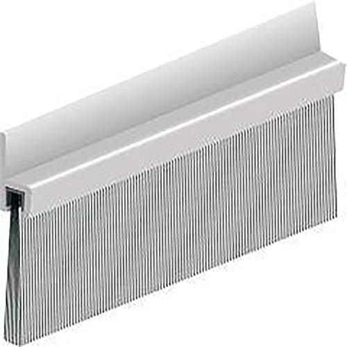 Format 8711286121014 IBS50 Türbodendichtung, Aluminium, 100cm, Polypropylen-Bürste