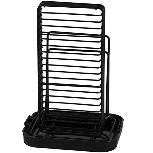 【BLKP】 パール金属 包丁 立て まな板 キッチンバサミ スタンド 収納 限定 ブラック BLKP 黒 AZ-5100
