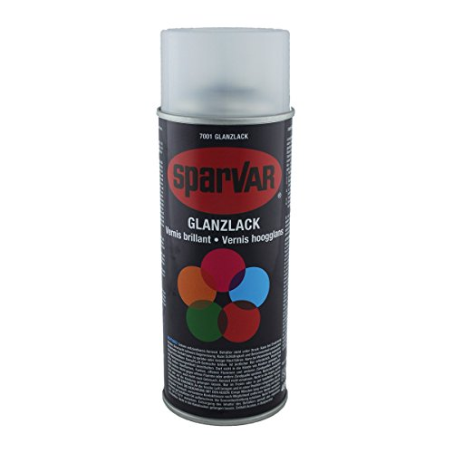 SparVar 6070018 Klarlack Spray glänzend, 400 ml