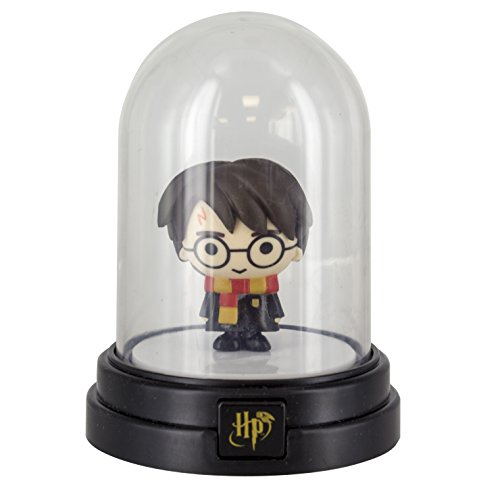 Harry Potter Mini campana de cristal luz, multi