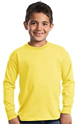 Youth Long Sleeve Shirt Yellow