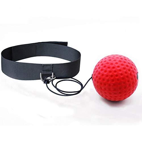 CXKWZ Geschwindigkeitsball Stirnband Erwachsene Geschwindigkeitstraining Taekwondo Boxsack Treten Freie Größe Kampfboxen Grappling Boxer Kampf Reflex Boxing Ball