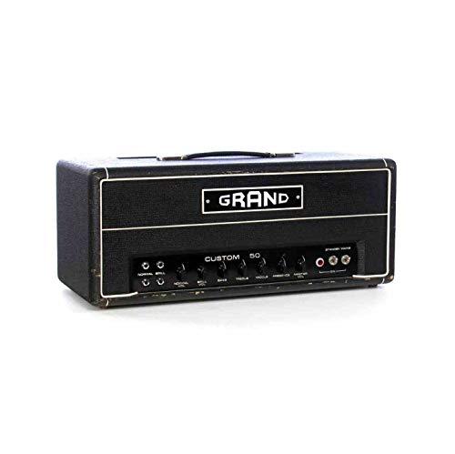 Custom Grand Amplifier 50 Watt Valve Guitar AMP Head 2EL34 Output Tubes 4Ecc83 Preamp Tubes