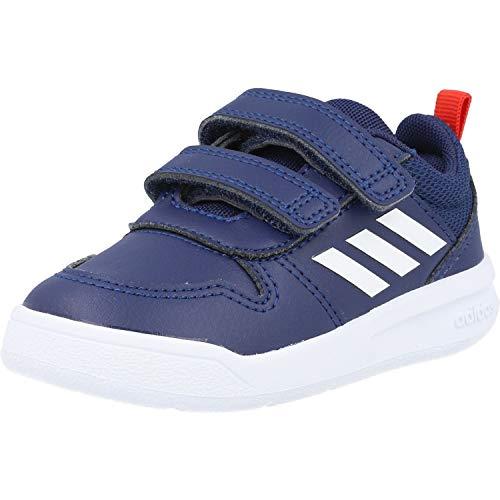 Adidas Tensaur I, Zapatillas De Running, Azuosc/Ftwbla/Rojact, 27 Eu