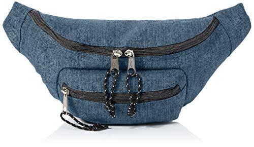 Amazon Basics - Bolsa acolchada con doble bolsillo, 3 L, vaquero
