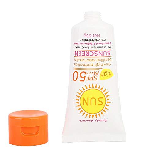 Crema Solar, No Irritante Disaar PA +++ 50 Crema De Protección Solar Para Hombres Crema De Protección Solar Para Actividades Al Aire Libre Para Uso Diario(Número de artículo DS329-1)