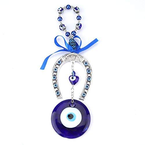 Hilitand Türkische Blaue Evil Eye Home Decor Segen Amulett Wandbehang Beschützer muslimischen Segen viel Glück Einweihungsparty Geschenk