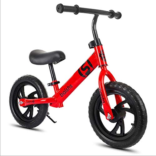 Best Review Of SSBH Child Balance Bike 2-8 Years Old 12 Inches Baby Damping Sliding Car Child Toy Bike Inflatable Foaming Rubber Tire Scooter No Pedal Training Bicycle Work Out Toddler Portable Children's Car