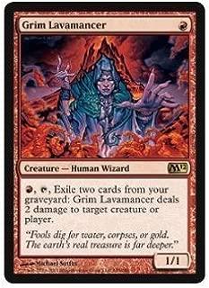 Magic: the Gathering - Grim Lavamancer - Magic 2012