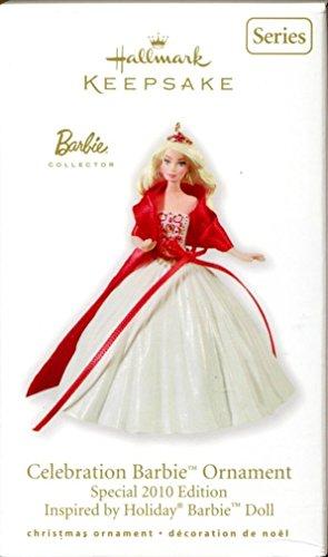 Barbie Celebration Barbie Ornament 2010 Edition by Hallmark