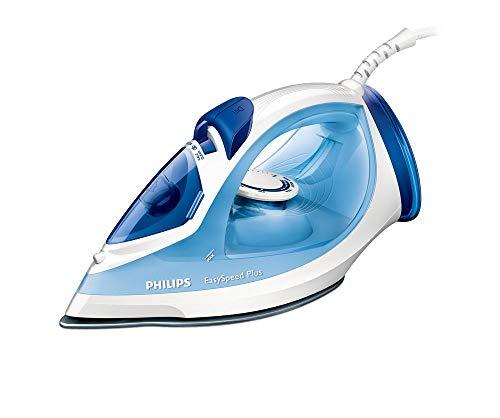 Philips EasySpeed GC2041/20 - Plancha (Plancha a vapor, 1,8 m, 130 g/min, Azul, Blanco, 40 g/min, 0,27 L)