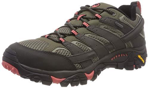 Merrell MOAB 2 GTX, Zapatillas de Senderismo Mujer, Gris, 38.5 EU