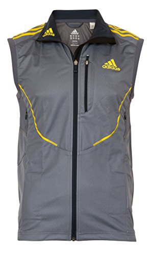 Adidas ATHL CW M Weste Herren ClimaWarm Windstopper Cross Country, Bekleidungsgröße:XS