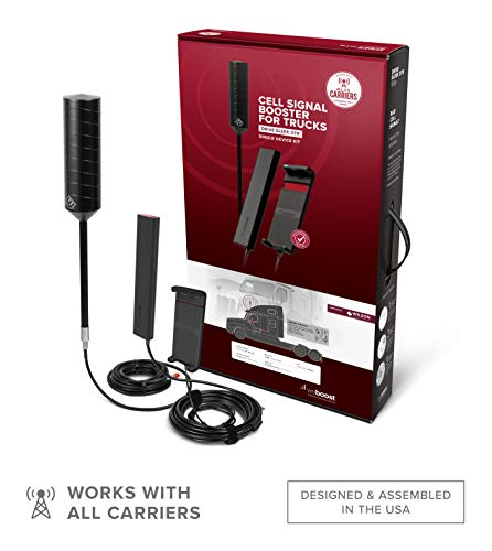 weBoost Drive Sleek OTR (470235) Truck Cell Phone Signal Booster | U.S. Company | All U.S. Carriers...