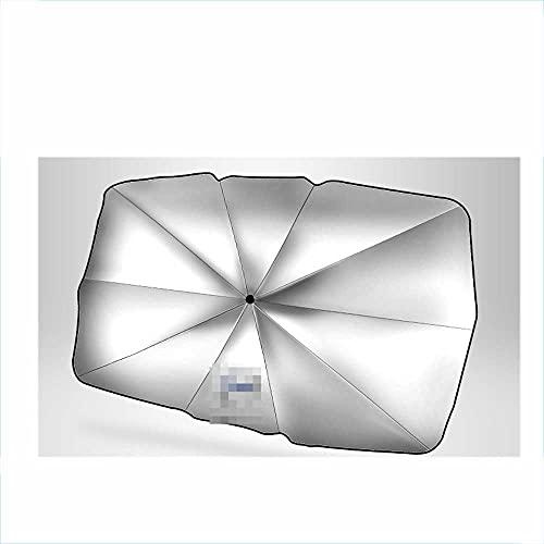 SAXTZDS Parabrisas de Coche Parasol Plegable Parasol de Ventana Frontal salpicadero Parasol protección UV1, Apto para Volvo XC60 / 90/40 S90 / 60l