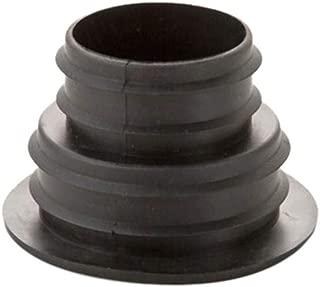 Drain Pipe Deodorant Plug, Kitchen Drain Pipe Sealing Plug - Bathroom, Washing Machine Drain Pipe Insect Proof and Deodorant Sealing Plug (1x Seal Ring, Black)