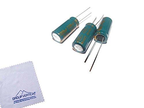 Group Vertical Electrolytic Capacitor 6.3V 3300UF 10 x 24 mm 6.3 Volt