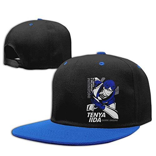 GOHEED Boku No Hero Academia - Iida Tenya - Gorras de béisbol para mujeres/hombres Reino Unido, gorra ajustable para papá
