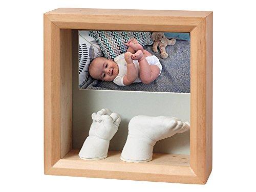 BABY ART - Cadre photo my baby sculpture miel