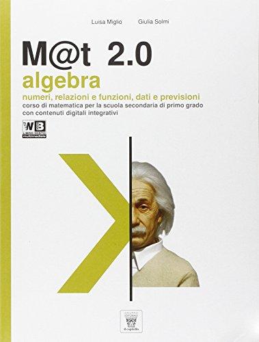 M@t 2.0. Per la Scuola media. Con e-book. Con espansione online (Vol. 3)