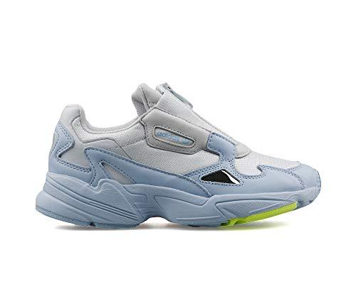 adidas Mujer Falcon Zip W Zapatillas Azul, 40