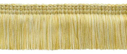 Empress Collection Lush 51mm Brush Fringe Trim|Vanilla, Yellow Peach, Champaigne|Style#: 0200EMPB|Color: Sunglow - W94|Sold by the Yard (91cm / 3 Ft / 36"|500|215|?|en|2|f1ae5332e7aa9b811f23ff7b68e35d20|False|UNLIKELY|0.3517147898674011
