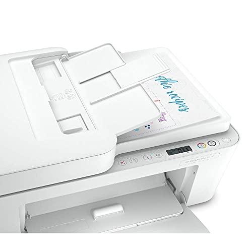 HP DeskJet Plus 4120 - Impresora multifunción tinta, color, Wi-Fi, copia, escanea, envía fax, compatible con Instant Ink (3XV14B)