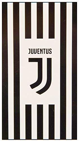 Club Gelicenseerde Juventus Stripe Handdoek - 70 x 140cm Ca.