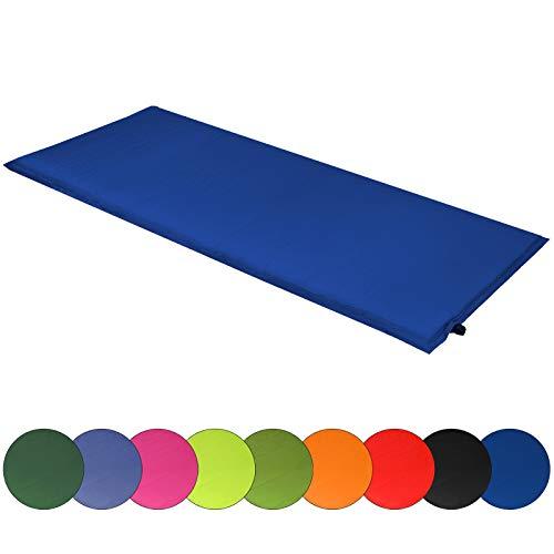 ALPIDEX Isomatte Selfinflating Matte Selbstaufblasende Outdoor Thermomatte in Verschiedene Größen und Farben, Farbe:dunkelblau, Maße:200 x 66 x 6.0 cm