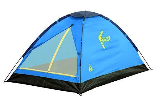 Best Camp Zelt Bilby 2, hellblau/dunkelblau,