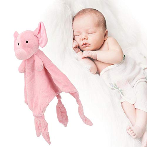 Toalla de seguridad para bebés, Toalla para apaciguar al bebé reutilizable para babero(Elephant)