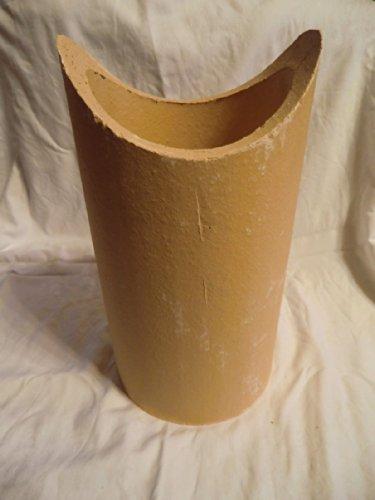 Wandfutter Sattelstück Schamotte Schornstein Anschluß ⌀180mm 30cm lang