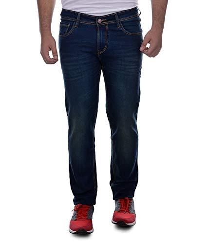 Ben Martin Men's Regular Fit Jeans(BMW7-JJ-3-GRN_34)
