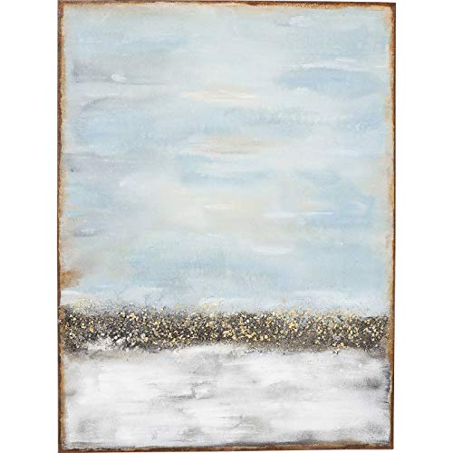 Kare Design Acrylbild Abstract Horizon 120x90cm, Gemälde abstrakt, Vintage Gemälde, Acrylgemälde, (H/B/T) 120x90x3,7cm