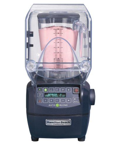 Hamilton Beach HBH850 Commercial Summit High-Performance Sensor Blender with 64-Ounce Polycarbonate Container, Black