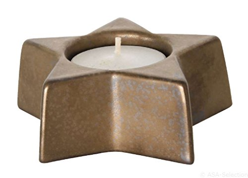 ASA - Xmas Teelichthalter Stern - Ferro - Kupfer - Ø9xH3,5 cm