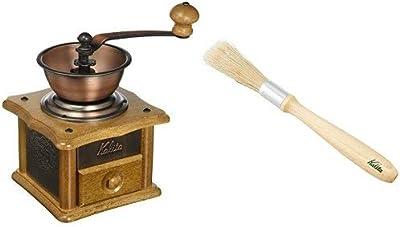 【セット買い】 カリタ コーヒーミル 手挽き AC-1+お手入れ用ブラシセット