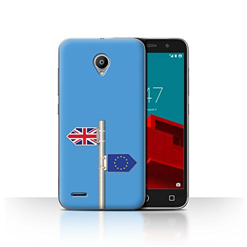 Stuff4®Phone Case/Cover/Skin/Vd-CC/Great Britain/British Pride Collection Parodie Brexit Drôle Vodafone Smart Prime 6