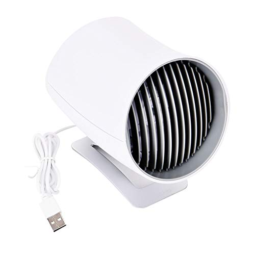 Bicaquu Ventilador USB, Ventilador de Escritorio, Ventilador de Mesa de Escritorio Control táctil Inteligente Ventiladores silenciosos para Oficina en casa(#1)